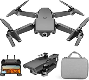 GACYSMD Mini Drone for Kids 8-12 with 4k 1080p HD Camera Equipped with Three Batteries Foldable Portable Drone 45mins Flight Time GPS Return Home Drone