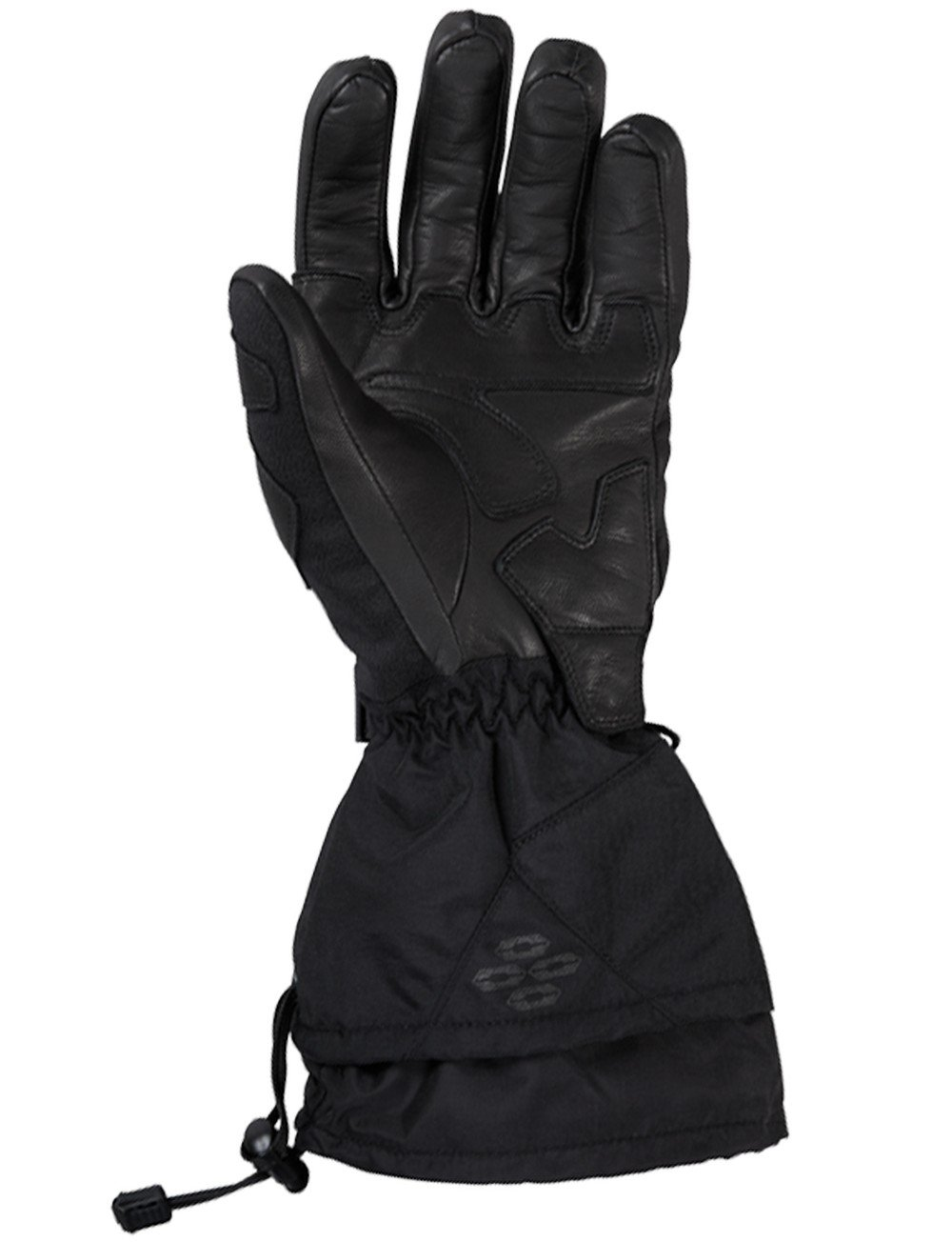 Black LRG Castle X Rival-G1 Snowmobile Glove