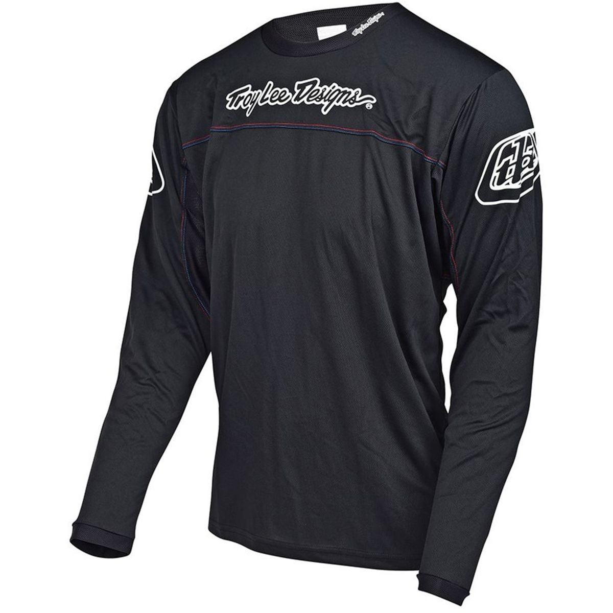 Troy Lee Designs Sprint Men's BMX Bicycle Jersey - Black / Medium