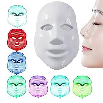 7 Color LED Mask Photon Light Skin Rejuvenation Whitening Facial Beauty Daily Skin Care Mask Ultratime Tinted Anti-Ageing Prime Cream SPF 30 - # 110 Naturel BY Annayake Cream 1.3 oz Unisex