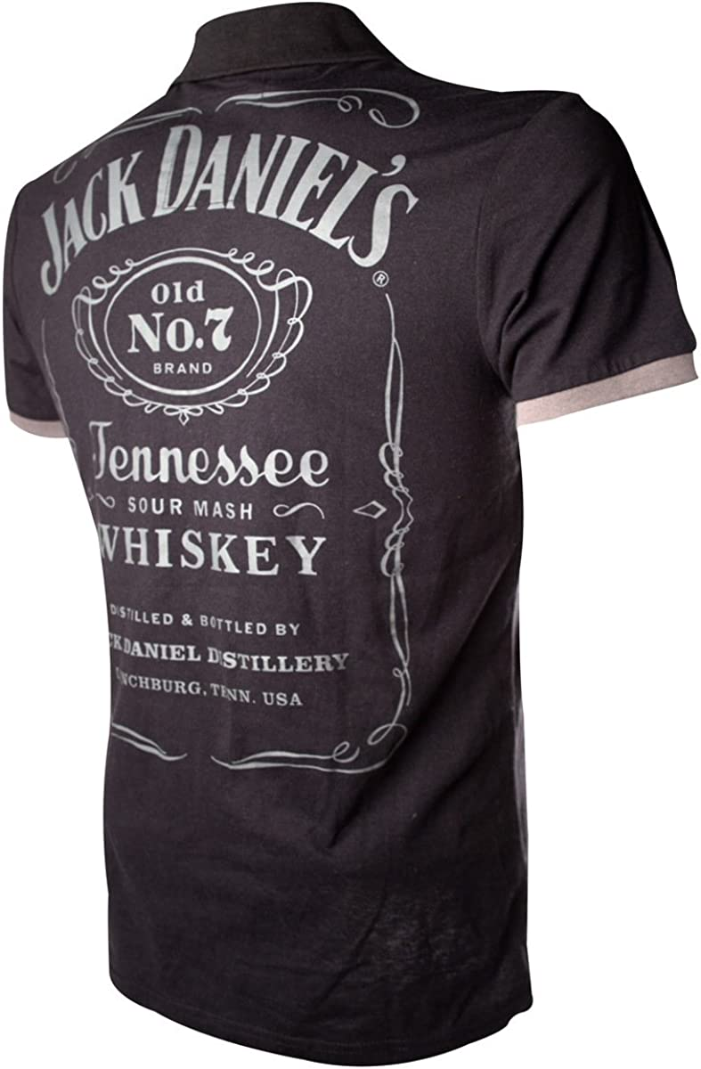 Jack Daniels t-Shirt Street Mens Patch with Logo PO255618JDS