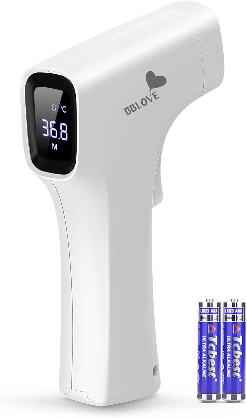 Termómetro Infrarrojos IDOIT termometro infrarrojos sin contacto para adultos con alarma termometro frontal con memoria para adultos y niños