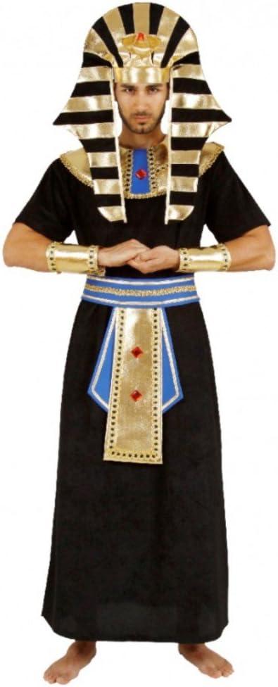 Mortino Para hombre disfraz faraón egipcio gobernante carnaval ...