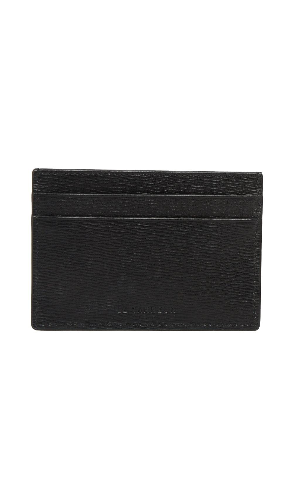 Le Tanneur Card holder TAY3406 N1 Black Men Spring/Summer Collection