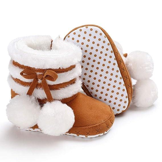 ❤ Botas de Nieve para el Primer Paso del bebé, Botas de Nieve para bebés de Baby Girl Botas de Nieve para bebés recién Nacidos Absolute: Amazon.es: Ropa ...