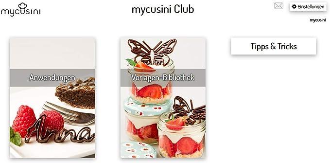 mycusini – Impresora 3D de alimentos Choco: Amazon.es: Hogar