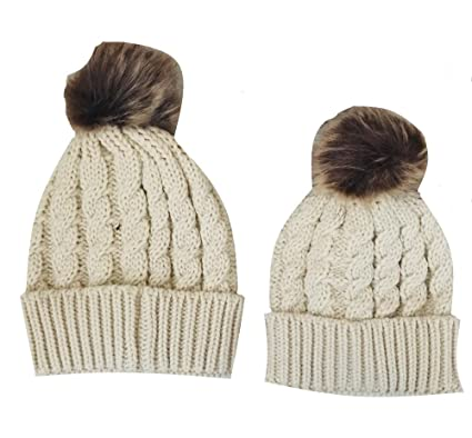 Matching Mother and Baby Hat Set c75453fff52