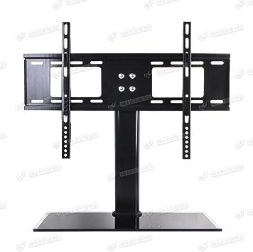 Tv Standfuss Universal Höhenverstellbar Ständer 37 55 Elektronik