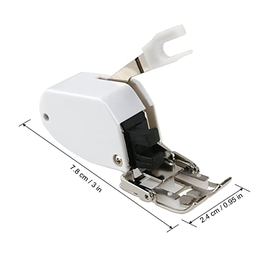 Veewon máquina de coser de pie bajo la caña Incluso RSS Corta del pie por un hermano / cantante / Janome: Amazon.es: Hogar