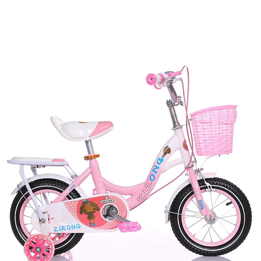 子供用自転車2-6-7-8-9-10歳の男の子と女の子自転車アウトドアベイビーマウンテンバイク (色 : ピンク ぴんく, サイズ さいず : 14 inches) B07DBWDVBJ 14 inches|ピンク ぴんく ピンク ぴんく 14 inches