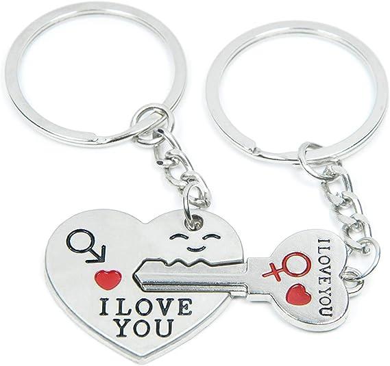 Couples Key Chain Frying pan Couple key chain