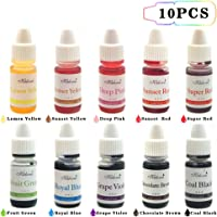 Colorante alimentare alimenti Dye Flo Concentrated Liquid food Air Brush - 10 colori
