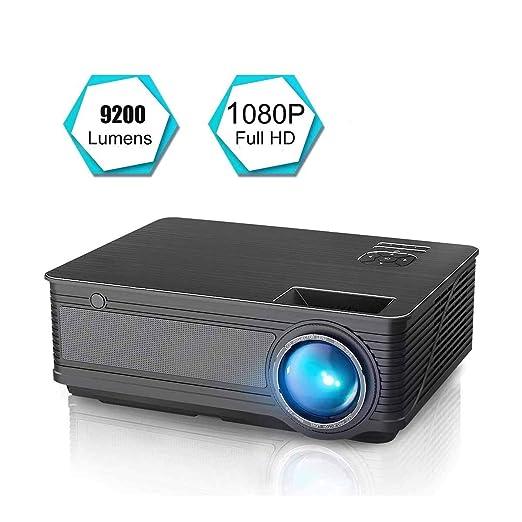 Proyector Proyector de películas LED de 9200 lúmenes actualizado ...