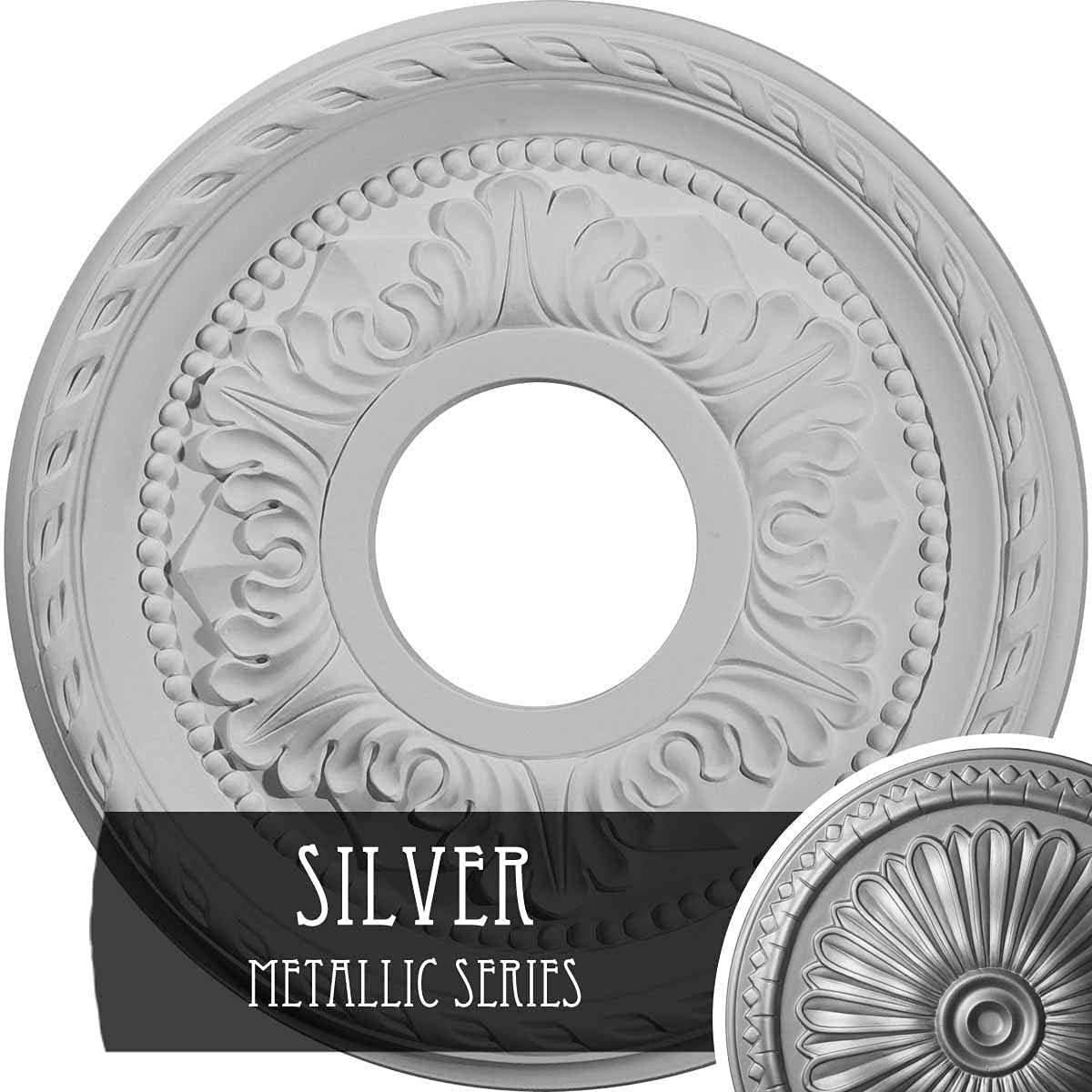 Ekena Millwork CM12PMSLS Palmetto Ceiling x Outstanding Medallion 8