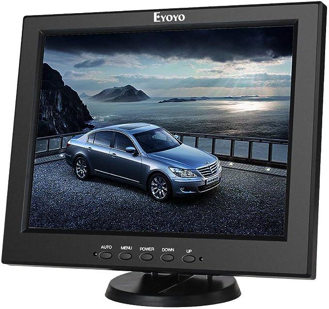Eyoyo 12 Pulgadas Monitor TFT LCD CCTV HD Pantalla (4: 3 ,800x600 ...