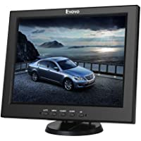 Eyoyo 12 Inch HDMI Monitor with BNC VGA AV HDMI Input 800x600 Portable 4:3 TFT LCD Mini HD Color Screen with Bulit-in…