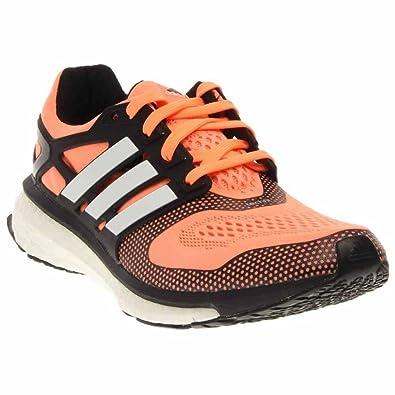 sneakers for cheap 326a9 1c9b1 adidas Energy Boost 2, Damen Laufschuhe, orange - orangeweiß - Größe