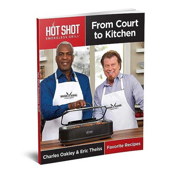 Amazon.com: Hot Shot - Parrilla eléctrica sin humo para ...