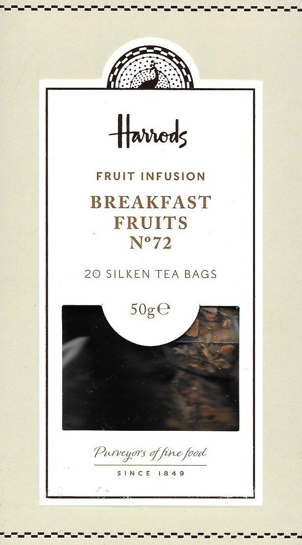 Harrods Londres. Nº 72 Desayuno de frutas, 20 Silken bolsas ...