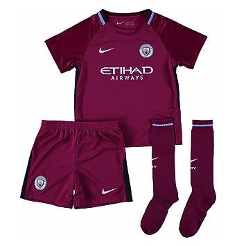 Nike 2017-2018 Man City Away Little Boys Mini Kit  Amazon.co.uk  Sports    Outdoors 71eb055efd66