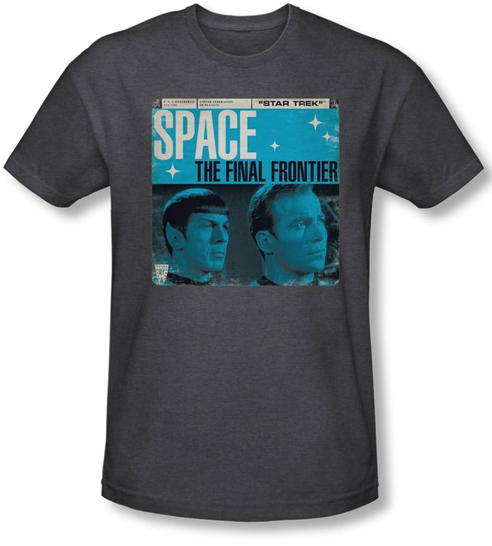 Star Trek - Mens Final Frontier Cover T-Shirt
