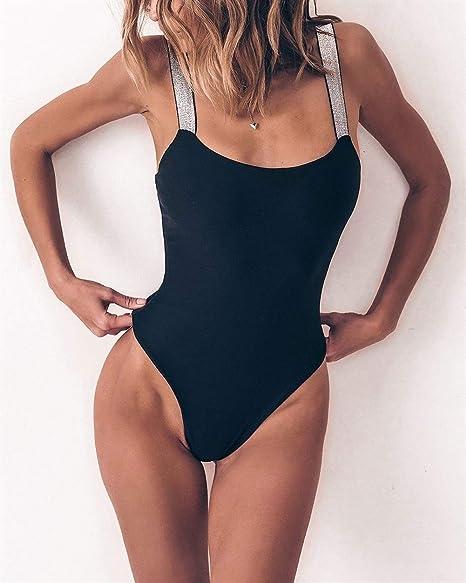 FHUA Traje de baño para Mujer Moda Flash Vendaje Color ...