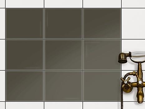Copre per piastrelle in vinile 15 x 15 cm design film adesivo
