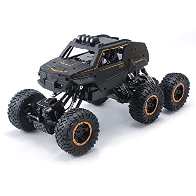 6WD Télécommande voiture Bigfoot Étrange Cross-Country haute vitesse 1/12 Ratio Vélo de montagne 2.4 Ghz extérieure Télécommande voiture Voiture d'escalade Escalade de rocher Escalade de véhicule tout