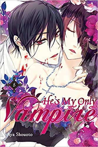 Book He's My Only Vampire, Vol. 8