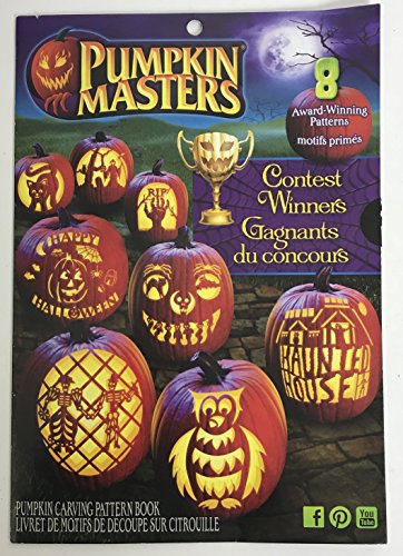 Pumpkin Masters Contest Winners Halloween Pumpkin Carving Pattern Book ()