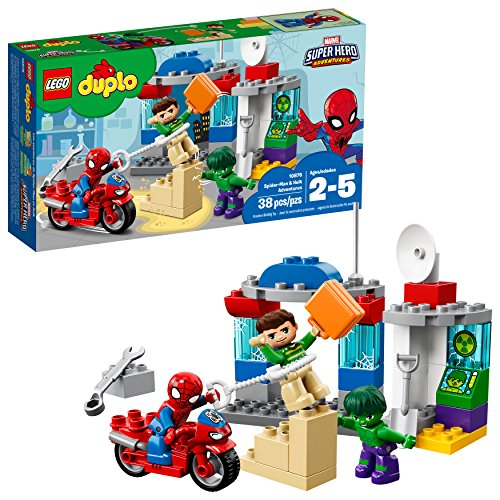 LEGO Duplo Super Heroes Duplo Super Heroes Spider-Man & Hulk Adventures 10876,, (Mario Games In The World Wide Web)