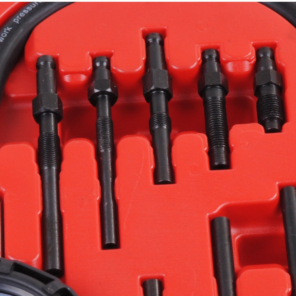 PMD Products 17pc Professional Diesel Engine Cylinder Compression Tester Tool Kit Set by PMD Products (Image #5)