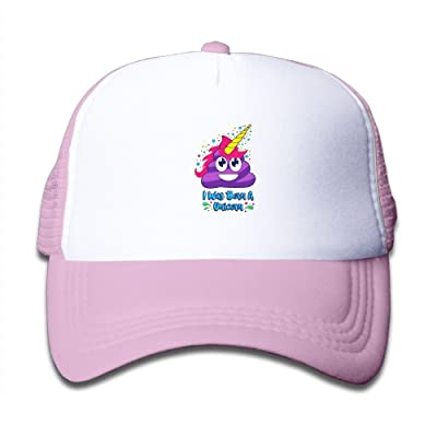 Mkajkkok I Was Born A Unicorn Adjustable Truck Cap For Children.