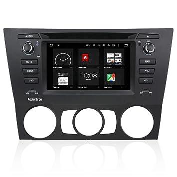 Rupse – Navegación GPS 6.2 pulgadas HD capacitiva pantalla táctil doble DIN coche estéreo multipunto con