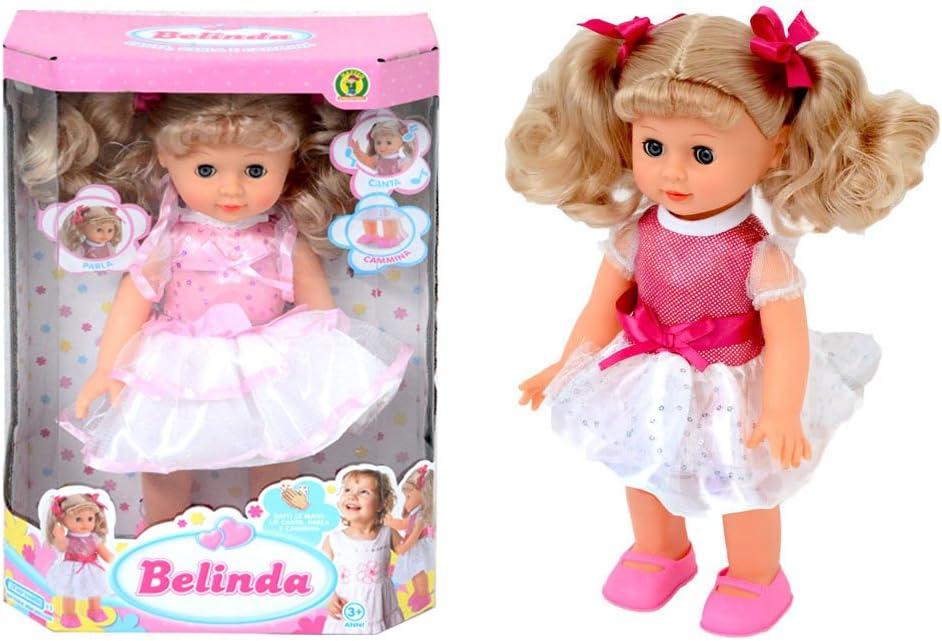 bambola parla e cammina belinda: Amazon.it: Giochi e giocattoli