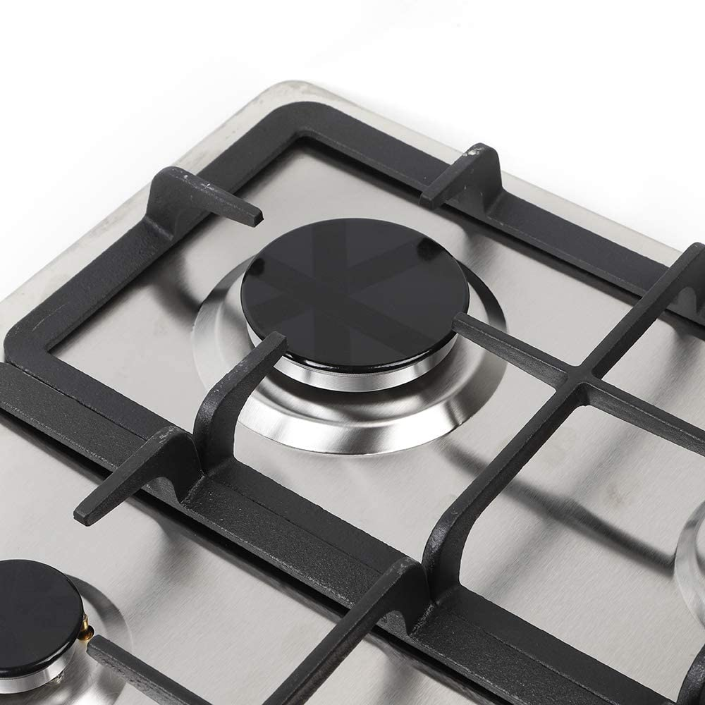 WINUS 23 4 Burners Built-in Stove Top Gas Cooktop Kitchen Easy to Clean Gas Cooking Easy to Clean US Stock