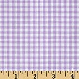 Richland Textiles Richcheck 60in Gingham Check 1/8in Lilac Fabric By The Yard