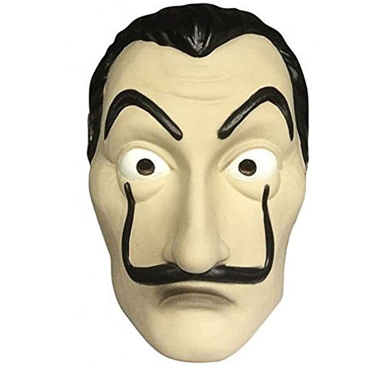 La Casa De Papel//Money Heist Maschera e Abbigliamento di Salvador Dal/í HOMELEX Maschera per Festa di Halloween