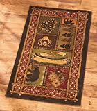 22×36 Decorative Accent Rug (Lodge) by GetSet2Save