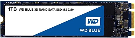 WDS100T2B0B SATA III 6 Gb//s M.2 2280 SSD WD Blue 3D NAND 1TB PC SSD