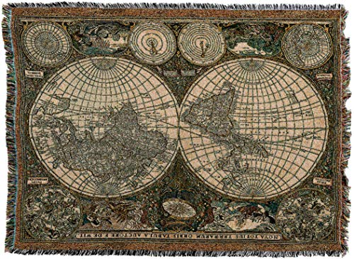 Antique World Map Tapestry.Compare Price To Old World Map Tapestry Tragerlaw Biz