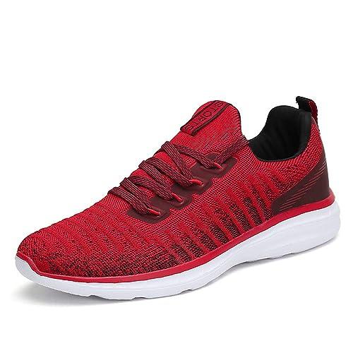 Hombre Mujer Zapatillas de Deportivos de Running Zapatos Deporte para Correr Fitness Gimnasia Sneakers: Amazon.es: Zapatos y complementos