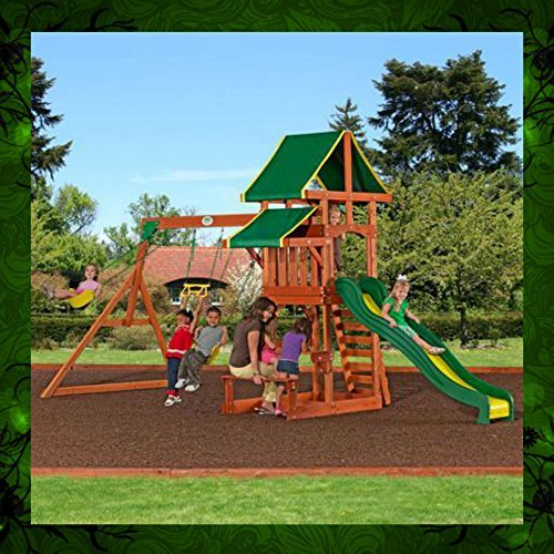 Playground Children Play Swing Set Backyard Kids Climb Slide Activities by Skroutz by Skroutz