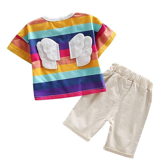 HAOHEYOU Animados Imprimir Camiseta Tops Pantalón Conjuntos ...