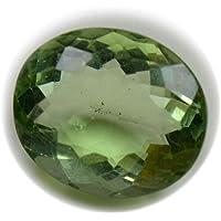 CaratYogi Pietra preziosa Allentata con Fluorite Naturale Forma di Ovale da 8 carati per la Pietra Verde curativa a Prezzo all'Ingrosso