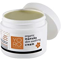YoRo Naturals, Organic Manuka Skin Soothing Creamy Balm, Relief from Eczema, Psoriasis, Diaper Rash, Sunburns, Cuts…