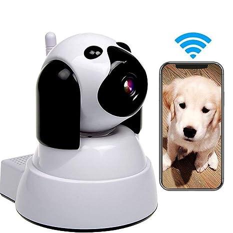 LEERAIN Cámara IP Perro, WiFi Monitor Mascotas, Inalámbrico ...