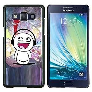 Be-Star Único Patrón Plástico Duro Fundas Cover Cubre Hard Case Cover Para Samsung Galaxy A5 / SM-A500 ( Amore )