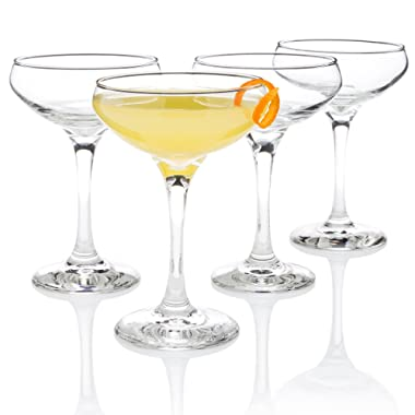 Algonquin Cocktail Glass ( Entertaining Set  of 4)