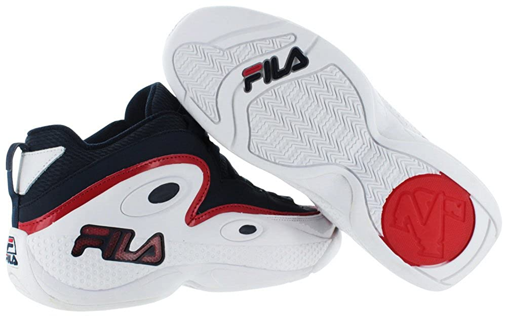 Amazon.com | Fila Grant Hill 97 Mens Retro Basketball Shoes Blue Size 7 | Shoes